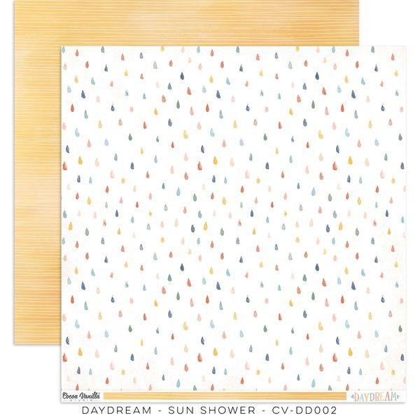 Cocoa Vanilla Studio DAYDREAM SUN SHOWER 12 x 12 Cardstock