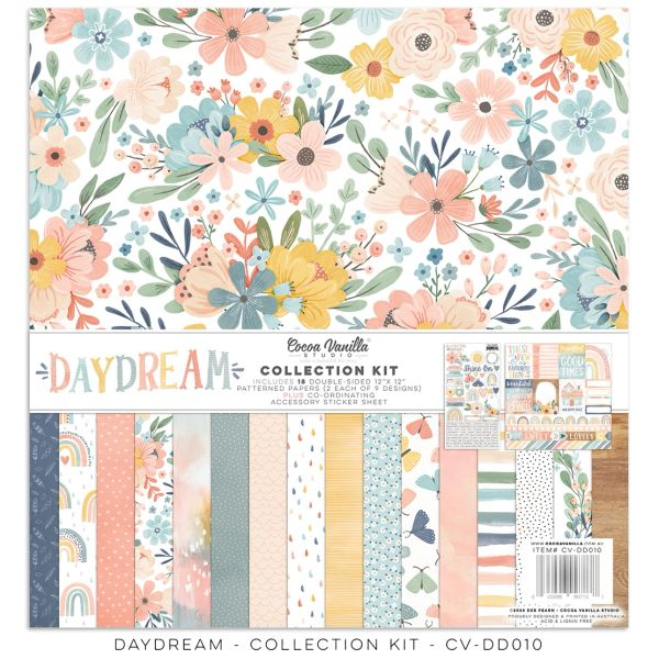 PREORDER Cocoa Vanilla Studio DAYDREAM 12 x 12 Collection Kit