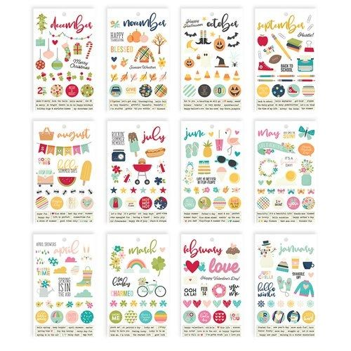 Simple Stories Best Year Ever 4 x 6 Sticker Book
