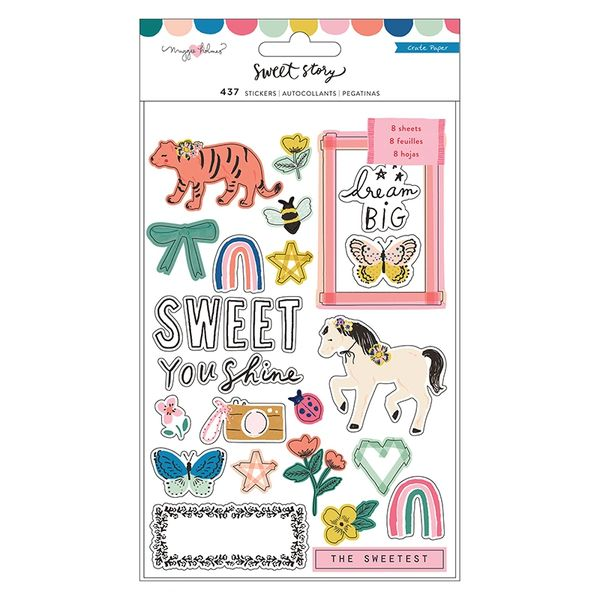 Crate Paper Maggie Holmes Sweet Story Sticker Book