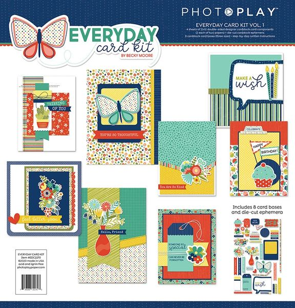 Photo Play Everyday Card Kit Vol. 1