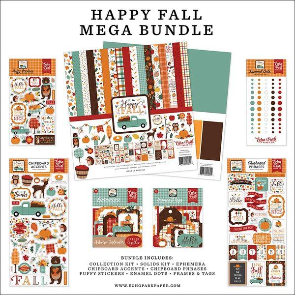 Echo Park Happy Fall Happy Scrappy Bag