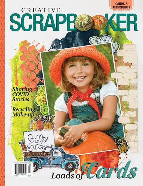 CREATIVE SCRAPBOOKER MAGAZINE FALL 2020