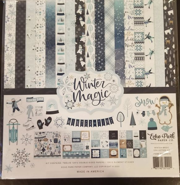 Echo Park Winter Magic 12 x 12 Collection Kit
