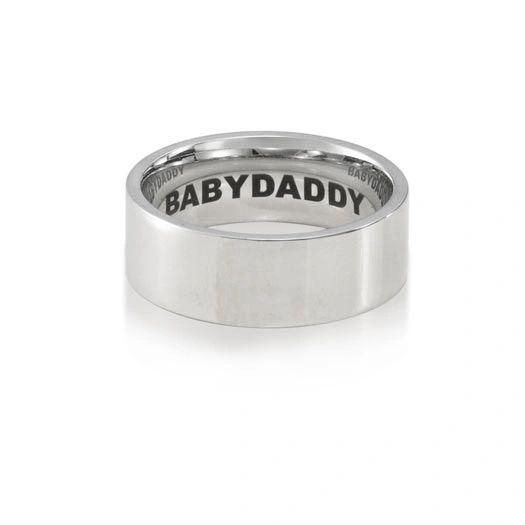 Inside Inscribed Babydaddy ring