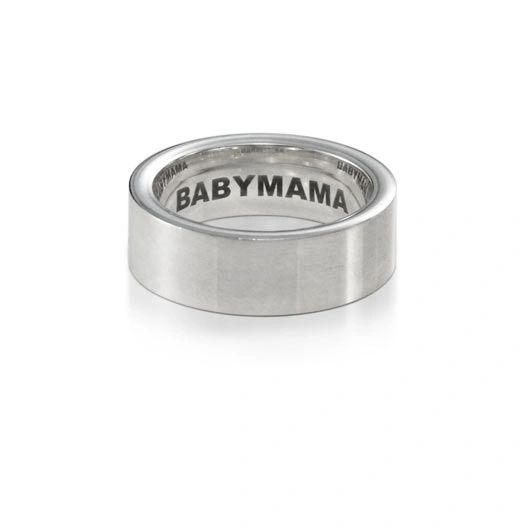 Inside Inscribed Babymama ring