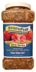 Dried Gammarus Shrimp - 24 oz Value jar