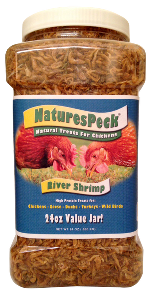 Dried Gammarus Shrimp - 24 oz Value jar for Turtles-Fish-Amphibians