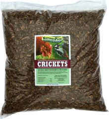 NaturesPeck Dried Crickets - (5 lb)