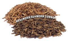 NEW! NaturesPeck®*Blend (11 lbs) Mealworms &Sunworms