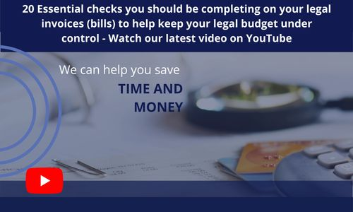 Legal Spend Management Video