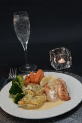 HUNGRY DAYS BAKED SALMON