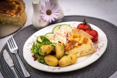 HUNGRY DAYS CHEESE & ONION QUICHE NOT AVAILABLE FROM SEPT 16