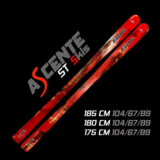 Ascente ST Mogul Skis