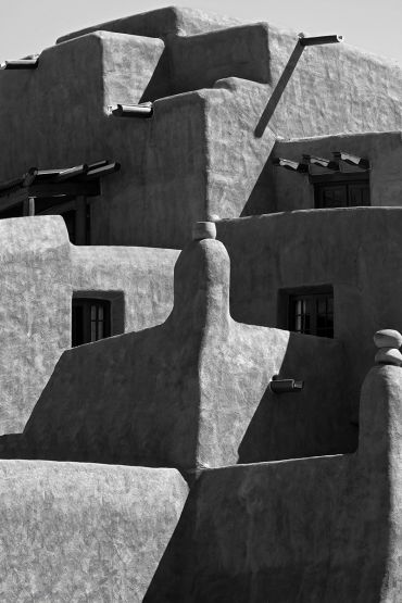 black and white photography,  Gerald Hill photography, Abstract architecture, adobe  bldg, photo's