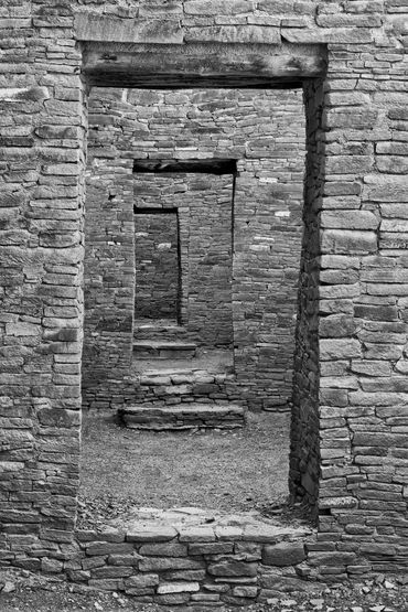 black and white photography,  photography for sale, southwest, Chaco Canyon, New Mexico, UNESCO