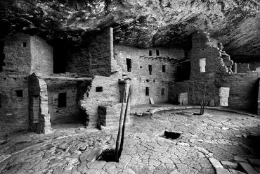black and white photography,  G Hill photography for sale, southwest, home decor, Mesa Verde, ruins