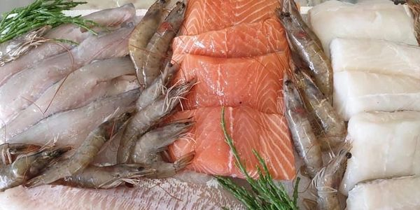 All this Fresh Fish and Seafood for £60 including free local delivery.