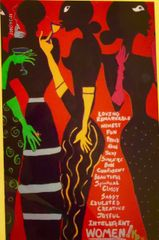 """""""Female Fun at Formals""""- Gifted/not for sale, but artist may be commissioned"""
