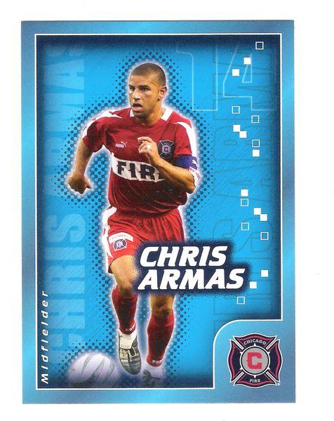 2004 Chris Armas Nabisco Candystand MLS Card