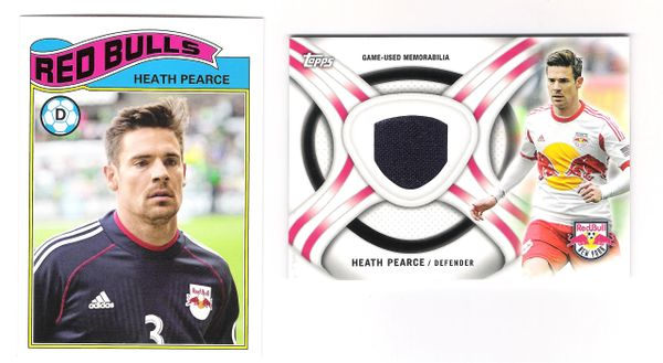 2013 Heath Pierce insert 2 card lot