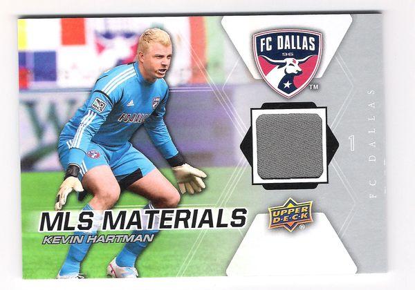 2012 Kevin Hartman UD MLS Materials