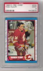 1989 Theo Fleury O.P.C. Rookie Card PSA 9 MINT