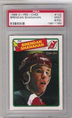 1988 Brendan Shanahan OPC Rookie Card PSA 9 (PD)