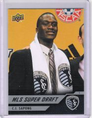 2011 C.J. Sapong MLS Super Draft Sporting KC