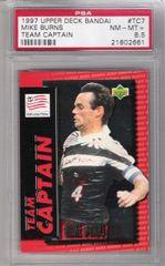 1997 Mike Burns UD BANDAI Team Captain