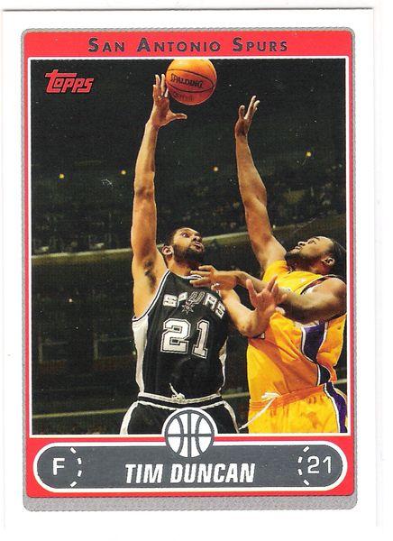 2006-07 Topps Basketball Complete Set (1-275)