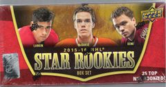 2015-16 NHL Star Rookies Box Set by UD unopened