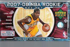 2007-08 NBA Rookie Box Set byUD unopened