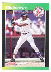 1989 Ellis Burks, Boston Red Sox Donruss #303