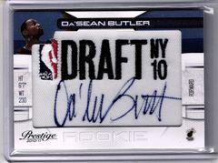 2010 Da'Sean Butler HEAT RC Auto on Draft NY Patch #499