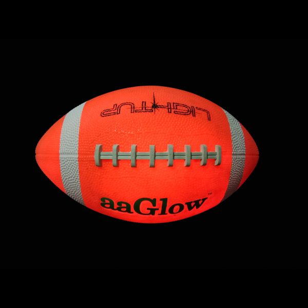 LED GLOW RUBBER FOOTBALL