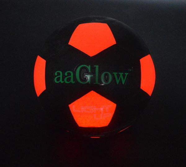 LED GLOW RUBBER SOCCER S5