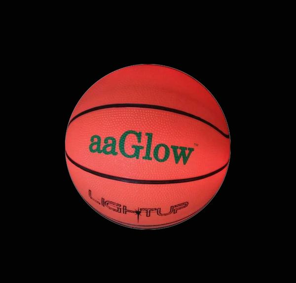 LED GLOW RUBBER BASKETBALL-B1