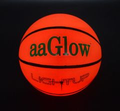 LED GLOW RUBBER BASKETBALL-B2