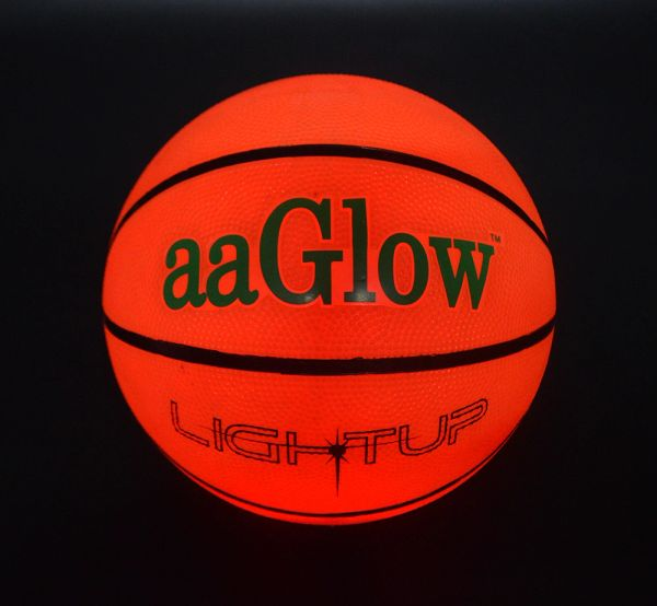 LED GLOW RUBBER BASKETBALL-B3