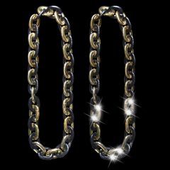 "38"" JUMBO LINK CHAIN Two color"