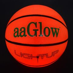 LED GLOW RUBBER BASKETBALL-B7