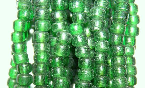 Crow Beads - Green