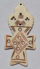 Bone Ankh Pendant