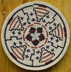 Hand Woven Navajo Coil Basket