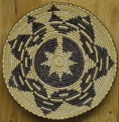 Hand Woven Navajo Coil Basket by Linda K. Wilson