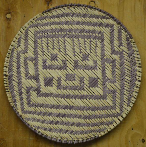 Hand Woven Hopi Kachina Sifter by Dorleen Gashweseoma