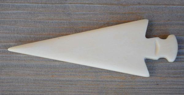 Handmade Real Bone Arrowhead (Bag of 10)