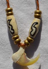 Handmade Bobcat Claw Necklace