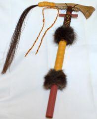Handmade Deer Jaw Tomahawk